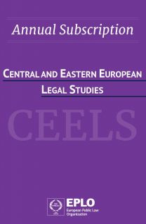 Central and Eastern European Legal Studies